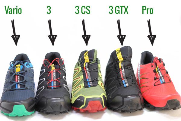 Ce model Speedcross să îmi aleg: Speedcross Vario, Speedcross 3 sau Speedcross Pro?